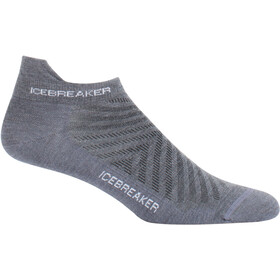 Icebreaker Run+ Ultra Light Micro Socks Herren twister hthr/white